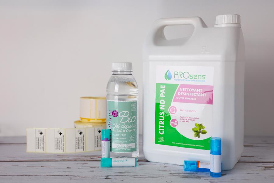 Des étiquettes pour la pharmacie