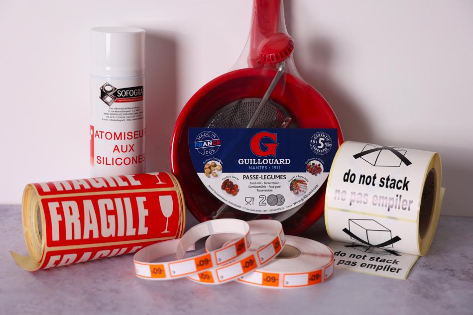 des étiquettes en bobine l'expertise d'étiquettes Fazilleau